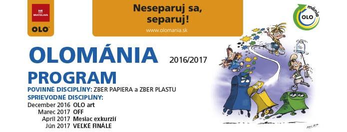 Program OLOmánie 2016/2017